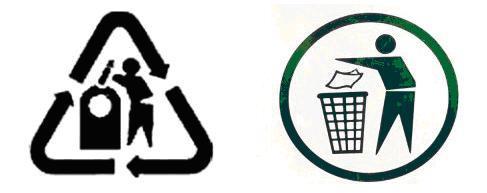 reciclaje simbol d